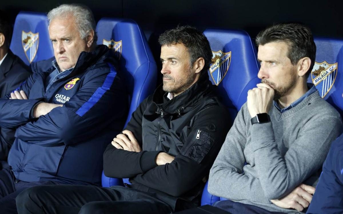 Luis Enrique: There is still a lot of the league left