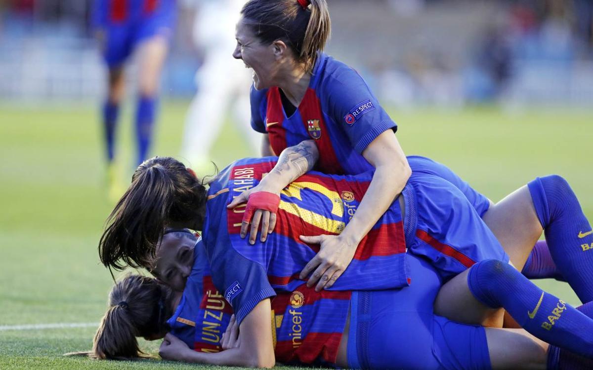 FC Barcelona Femenino - FC Rosengärd: ¡Hacen historia! (2-0)
