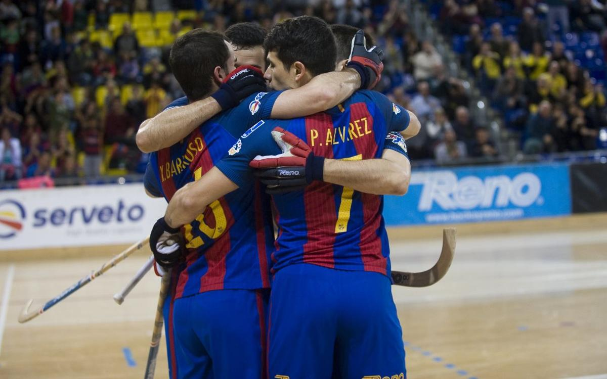 FC Barcelona Lassa - Hockey Forte: ¡Hacia la Final Four! (3-4)
