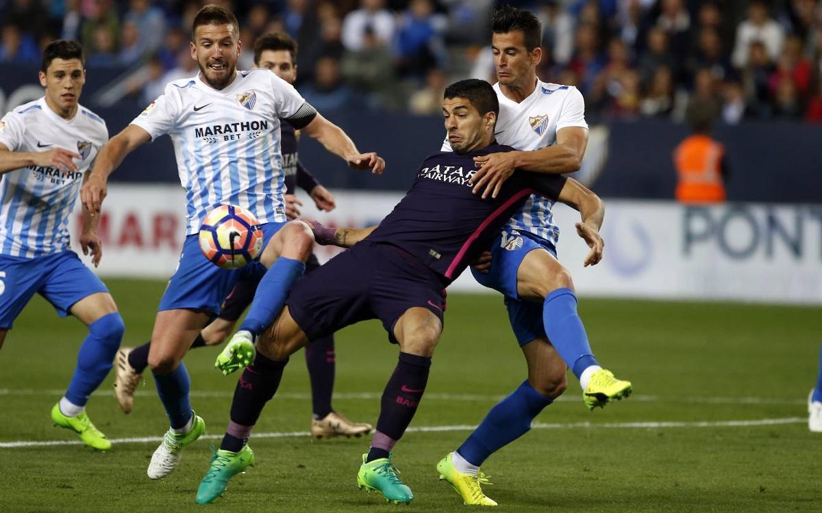 Màlaga – FC Barcelona: Ensopegada inoportuna (2-0)