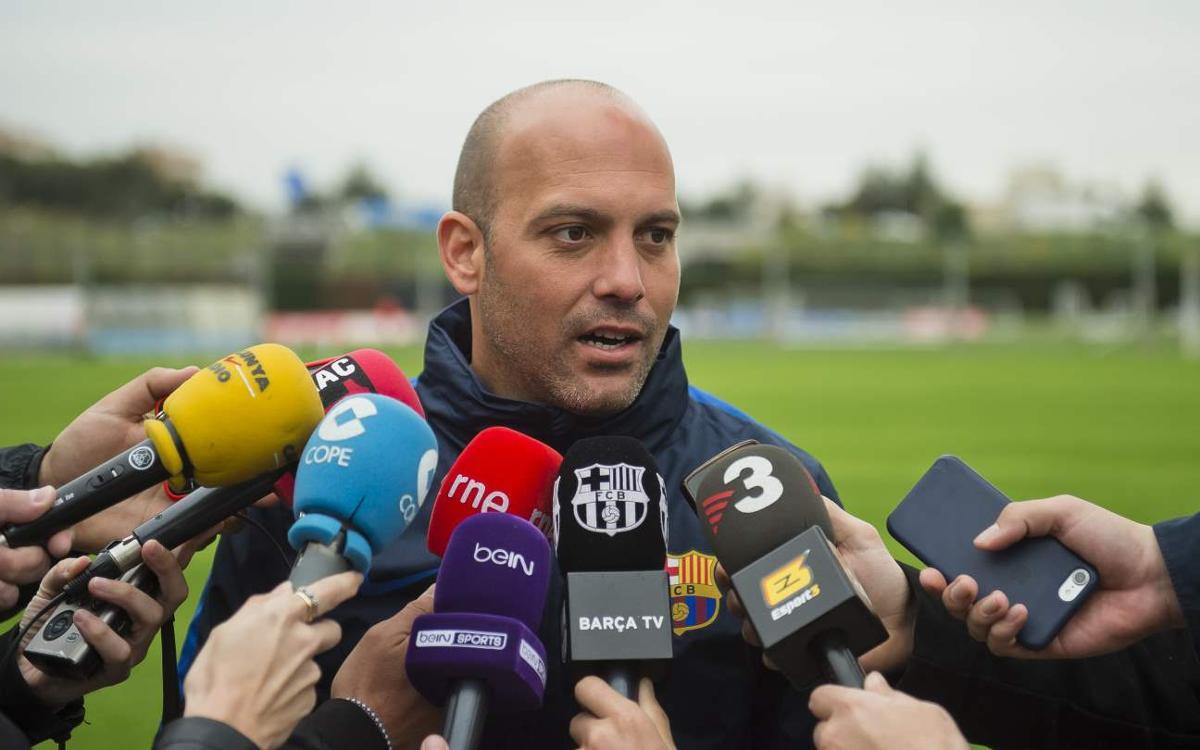 """Gabri García: """"Hem pogut preparar el partit a consciència"""""""