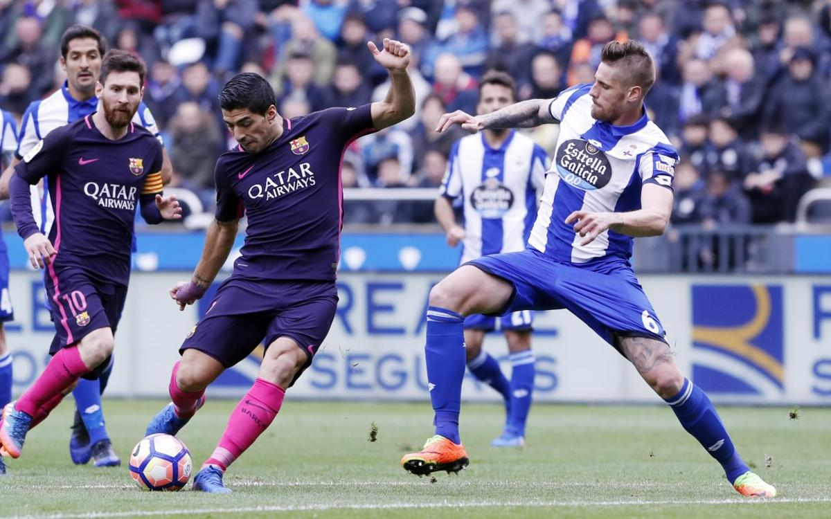 Suárez vows Barça will battle to the end