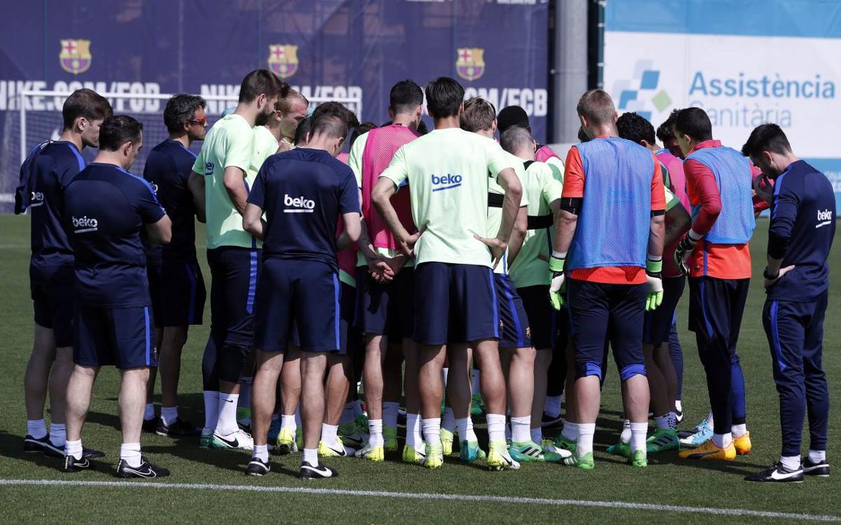 Le groupe du FC Bacelone convoqué pour recevoir la Real Sociedad, en Liga