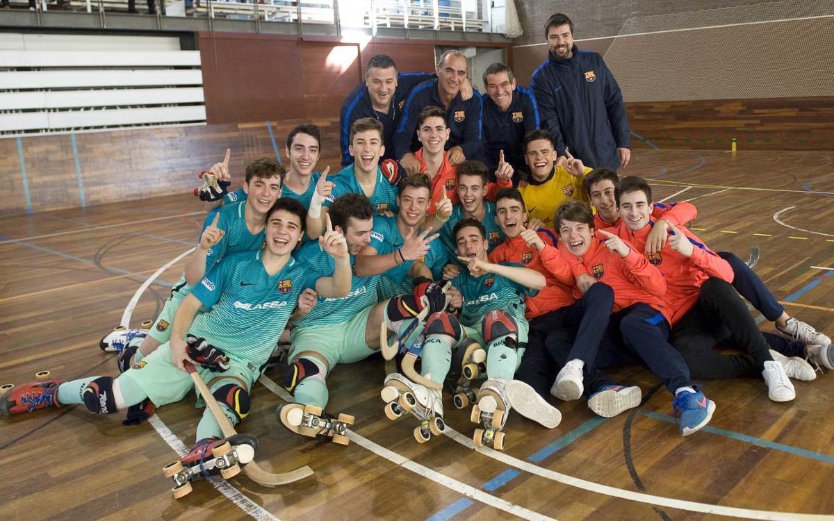 El Barça Lassa C certifica el ascenso a Primera Catalana