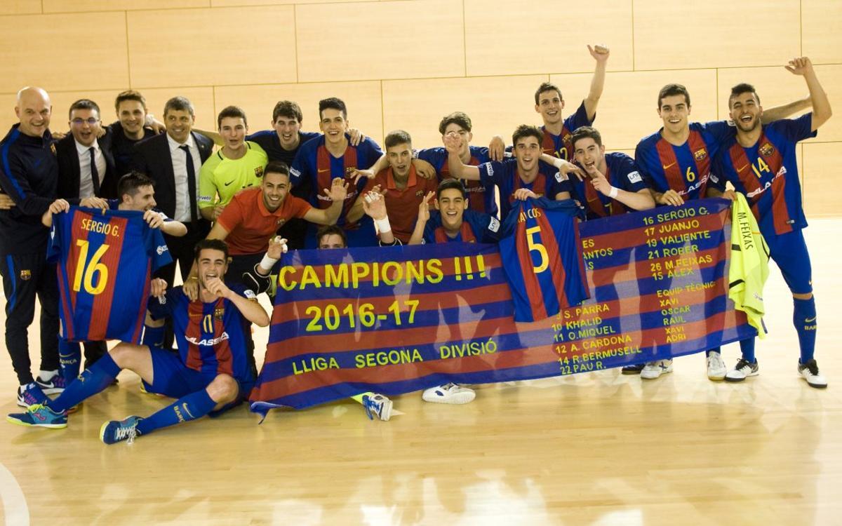 Barça B - Betis: Hacen historia y se proclaman campeones de Segunda División (6-4)