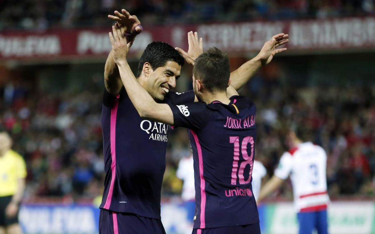 League Video Highlights: Granada vs FC Barcelona