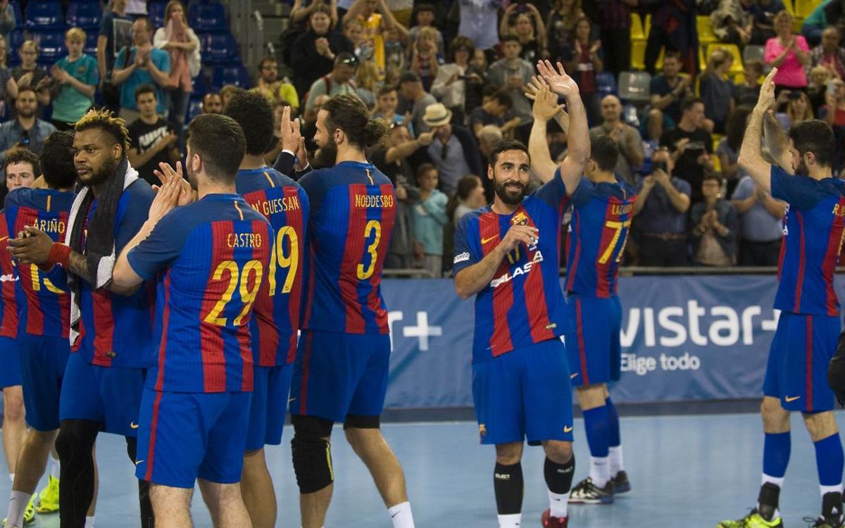 FC Barcelona Lassa – Bidasoa Irún: Todos unidos a por un nuevo título
