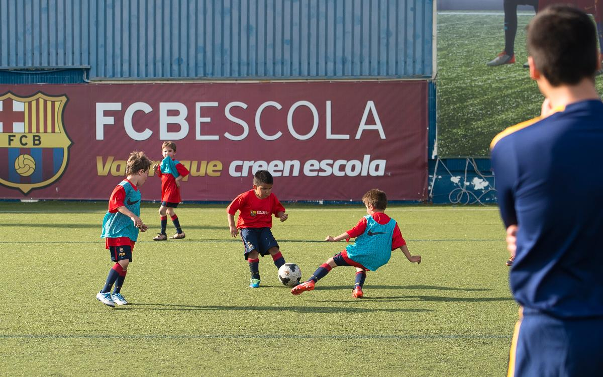 FCBEscola Russia begins its work in Moscow
