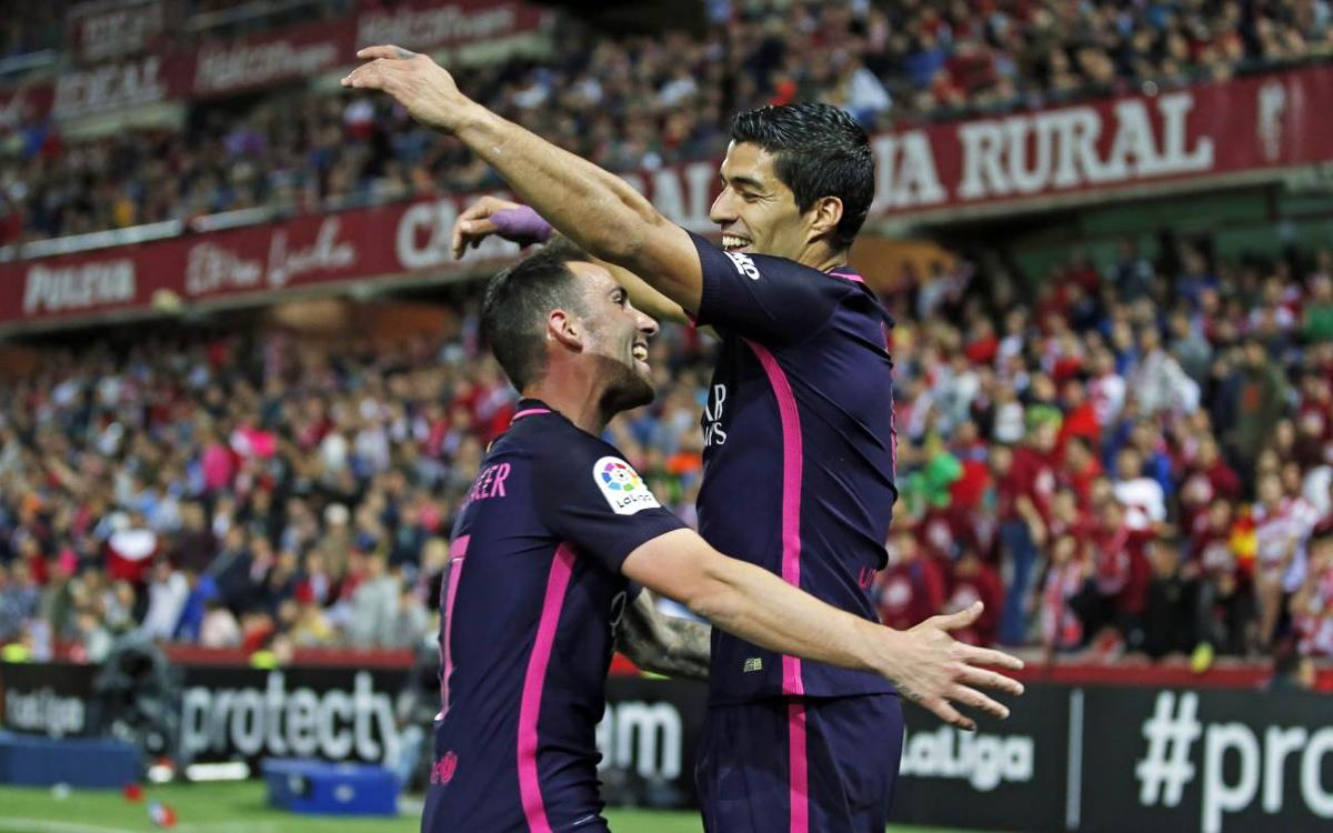 MATCH REPORT: Granada 1-4 FC Barcelona: Keeping up the pressure