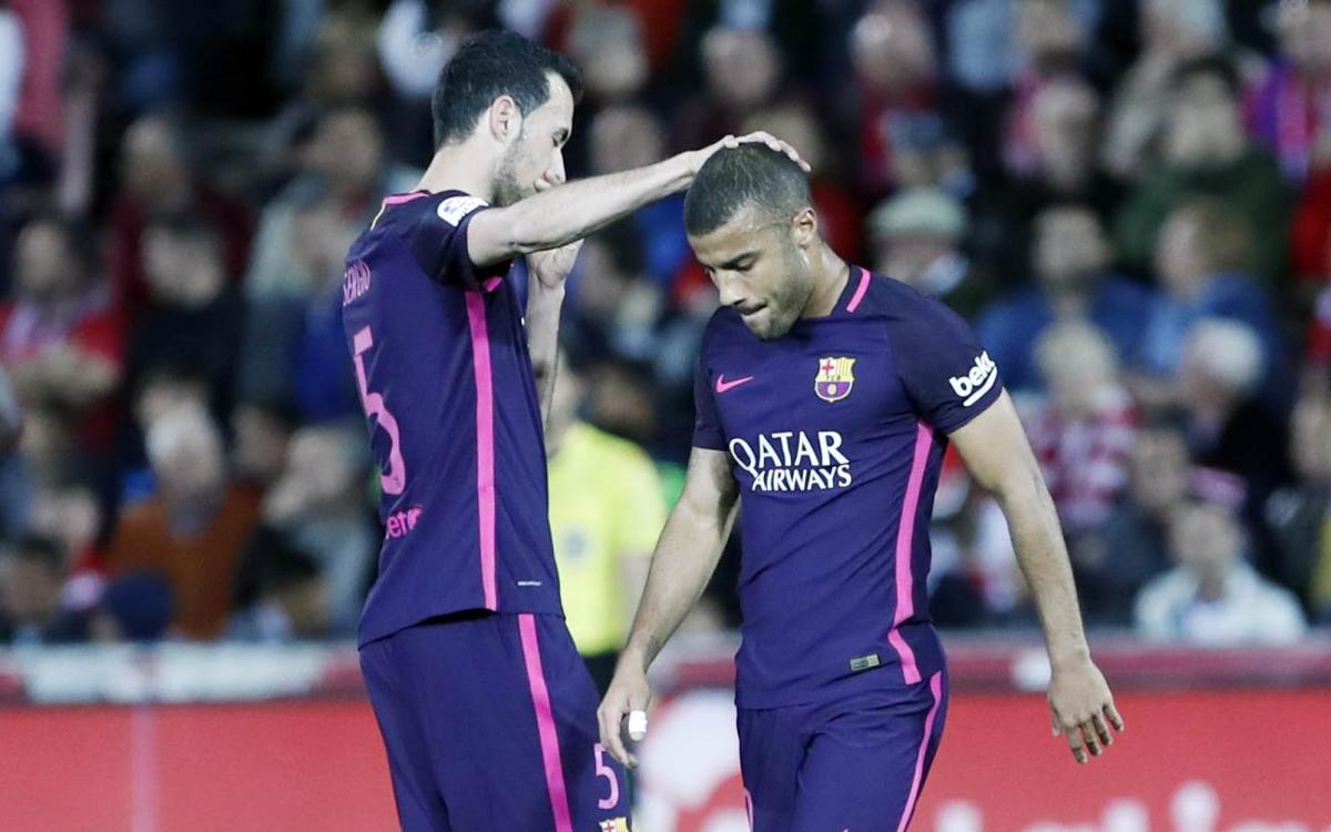 Medical news: Rafinha suffers injury to right meniscus
