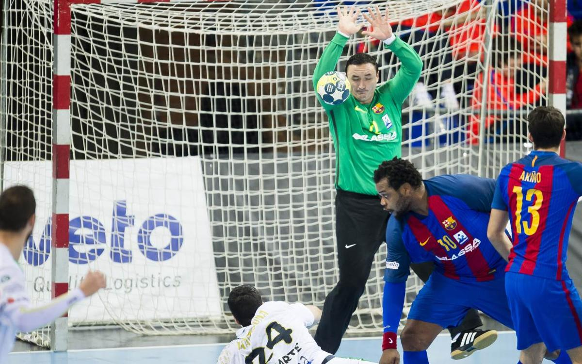 Ademar León - FC Barcelona Lassa: Win number 150 in a row (27-28)