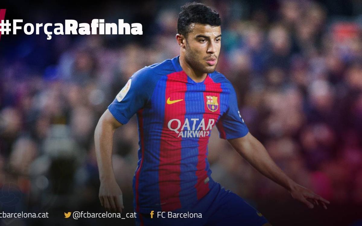 Communiqué médical - Rafinha, forfait 4 mois avec le FC Barcelone