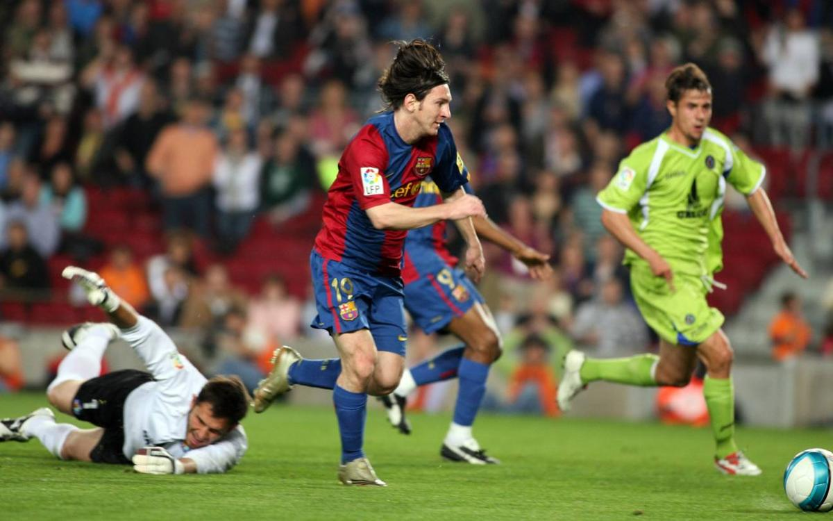 10 years since Messi's historic goal against Getafe