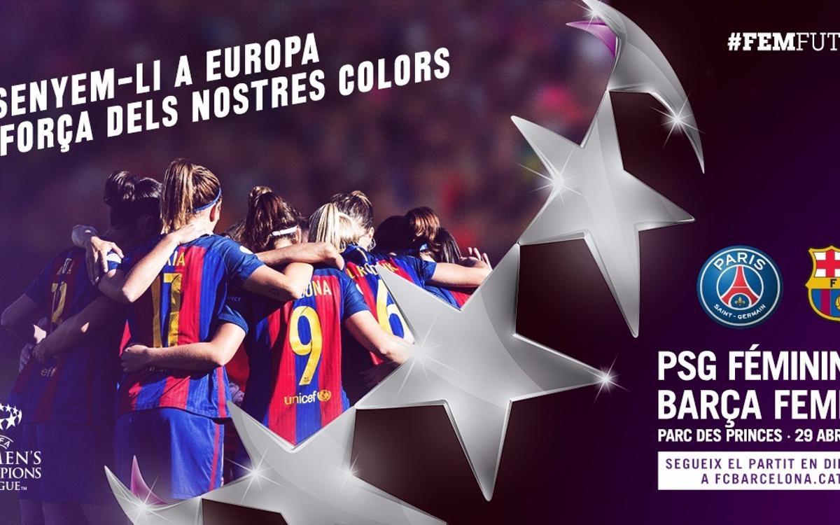 París Saint-Germain - FC Barcelona Femenino (previa): Para disfrutar y competir al máximo