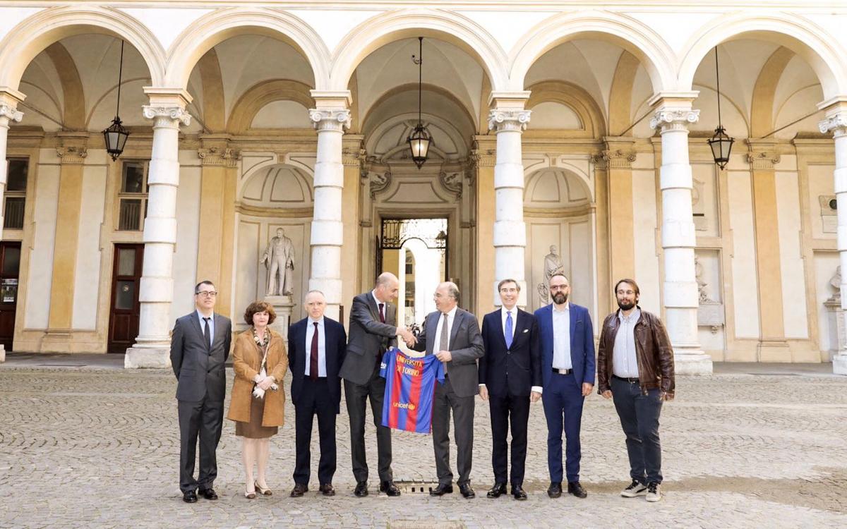 El FC Barcelona projecta la seva identitat a Torí de la mà de l'Institut Ramon Llull