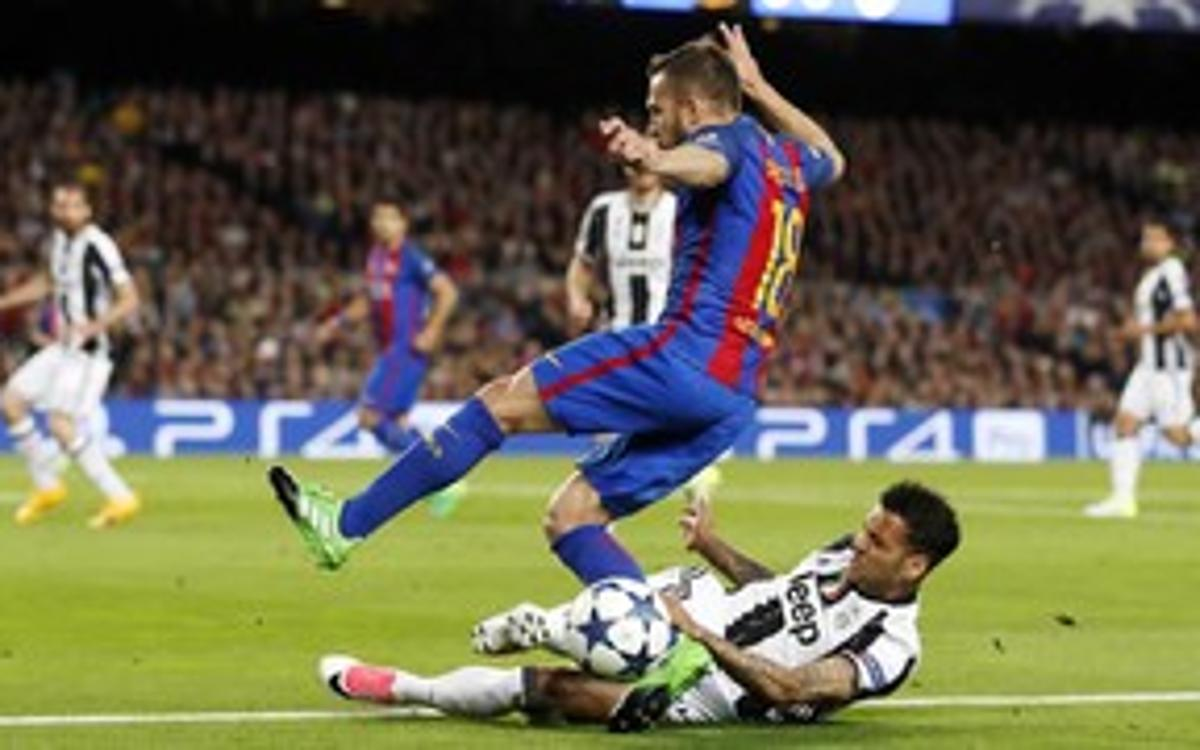 FC Barcelona 0 - Juventus 0 (3 minutes)