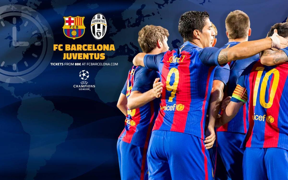 Quan i on es pot veure el FC Barcelona - Juventus