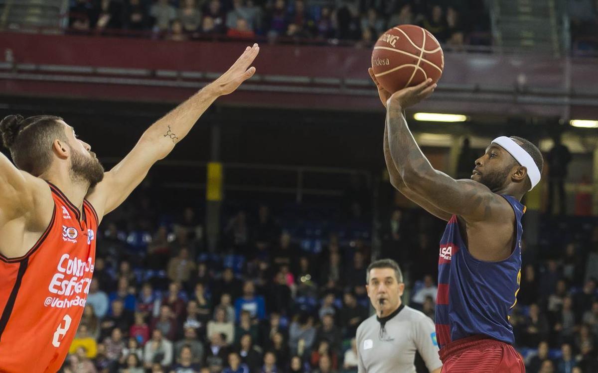València Basket - FC Barcelona Lassa: Partit gran a la Fonteta