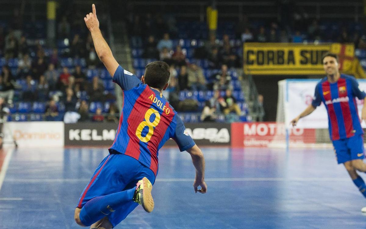 FC Barcelona Lassa - Palma Futsal: Triunfo contundente para mantenerse arriba (5-1)