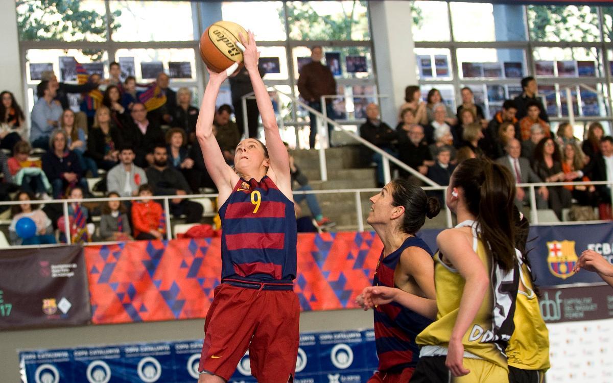 Barça CBS – BF Viladecans: Imparables en Sant Feliu (75-62)