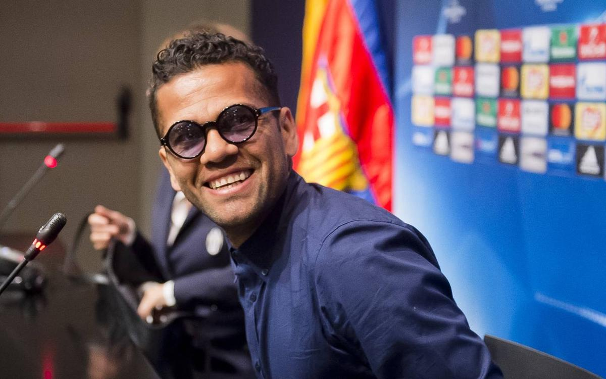 Dani Alves: Camp Nou is home to me