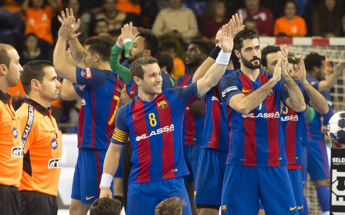 Sis blaugranes opten al millor equip de la VELUX EHF Champions League
