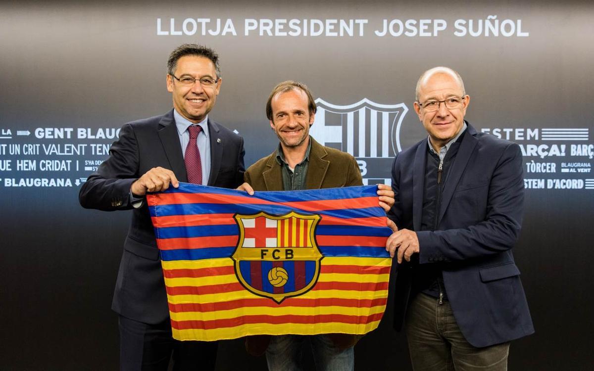 Ferran Latorre llevará la bandera del Barça en la expedición al Everest