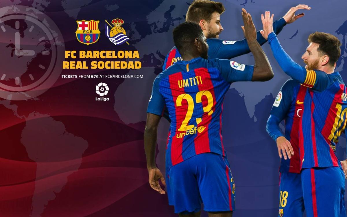 Cuándo y dónde se puede ver el FC Barcelona - Real Sociedad