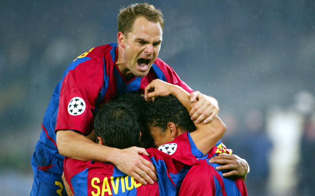 The last time Barça met Juventus in the Champions League quarter-finals