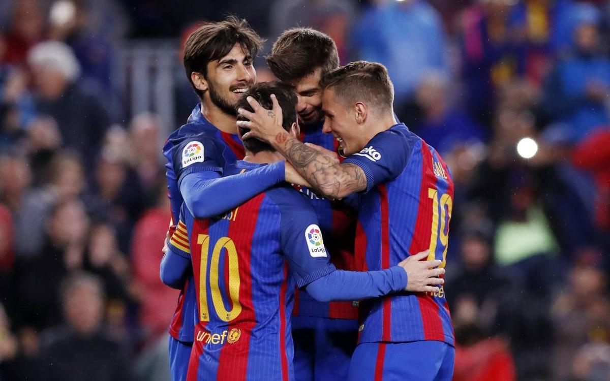 FC Barcelona – Osasuna: Homenatge amb festival (7-1)