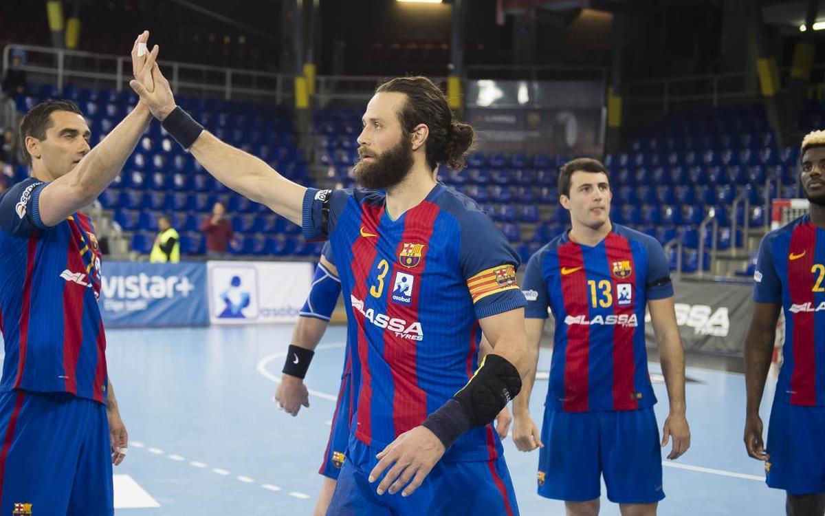 El Barça Lassa té la Lliga Asobal a tocar