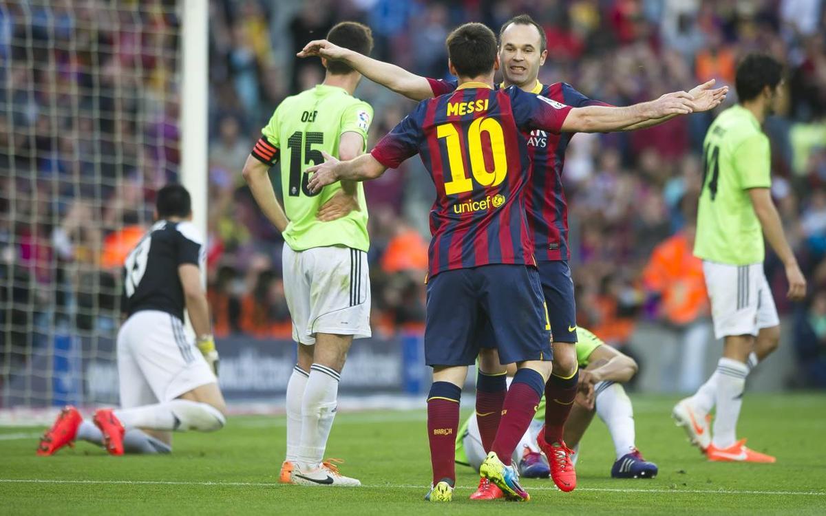 Los 10 datos previos al Barça - Osasuna