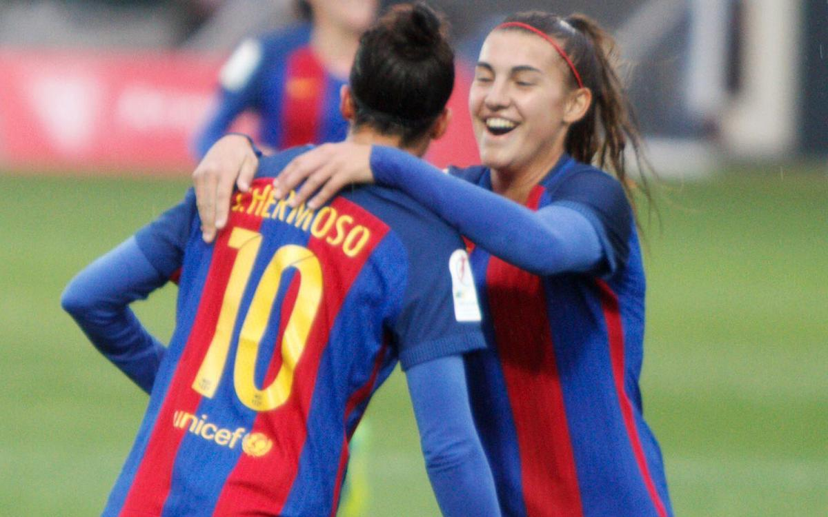 Athletic Club – FC Barcelona: Triomf solvent i prestigiós guiat per una gran Jenni Hermoso (0-4)