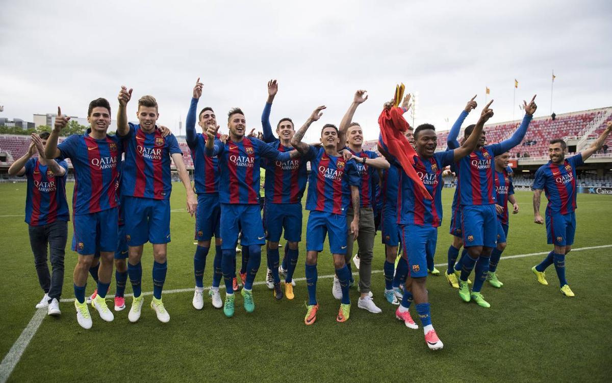 Campeones de Segunda B por quinta vez en la historia