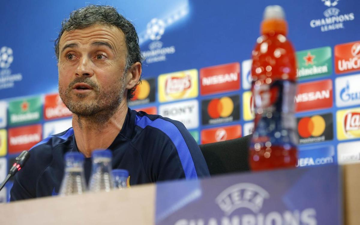 Luis Enrique: We need a bouncing Camp Nou