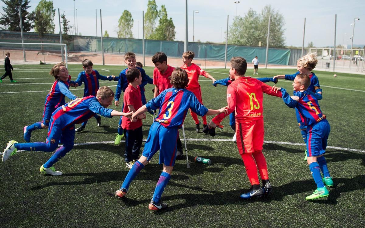 L'Aleví A guanya la Lliga