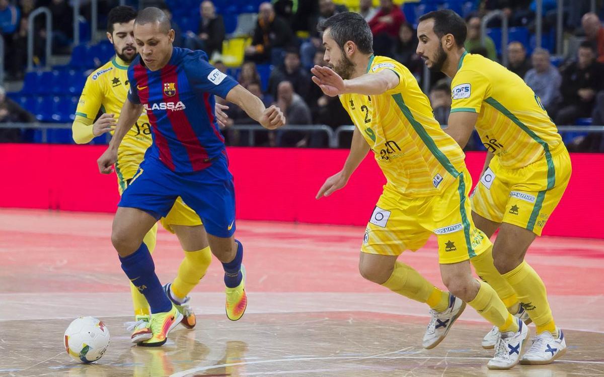 El Barça Lassa es juga la segona plaça a Jaén