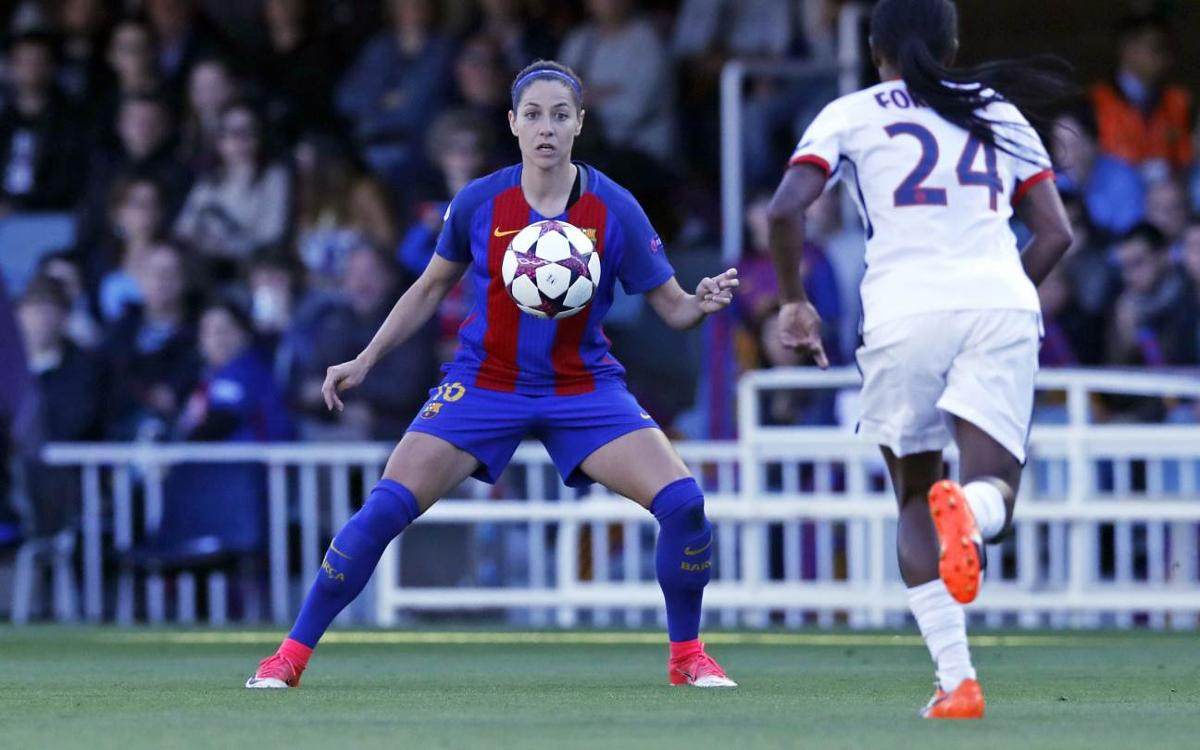 Este sábado, el duelo de semifinales de la Champions entre el PSG y el Femenino, en directo en la web del Club