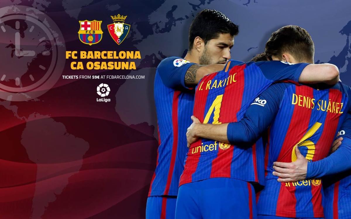 How to follow FC Barcelona v Osasuna in Week 34 of La Liga live on TV, radio, and online