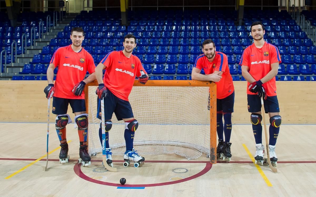 Matias Pascual, Lucas Ordoñez, Edu Lamas y Pau Bargalló, listos para la Copa de las Naciones