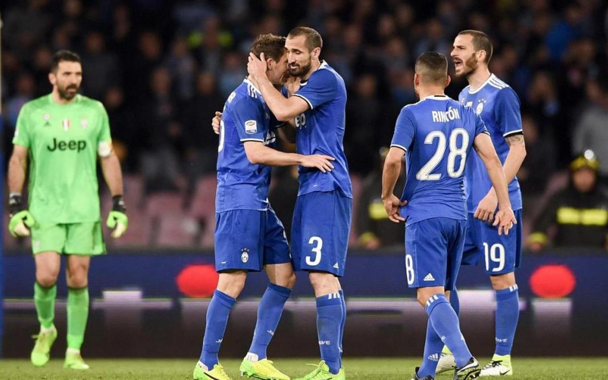 La Juventus empata ante el Nápoles (1-1)
