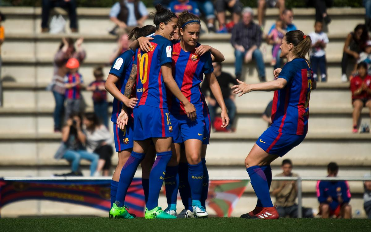 FC Barcelona Women v Betis: Top of the league (3-0)
