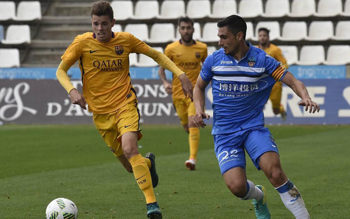 Barça B – Lleida Esportiu: Aprofitar la bona ratxa per augmentar la distància