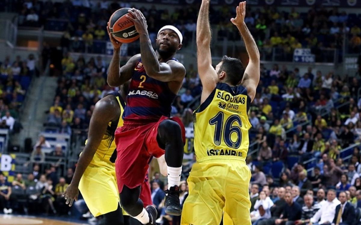 Fenerbahçe Istanbul - FC Barcelona Lassa: S'escapa el triomf a la pròrroga (68-65)
