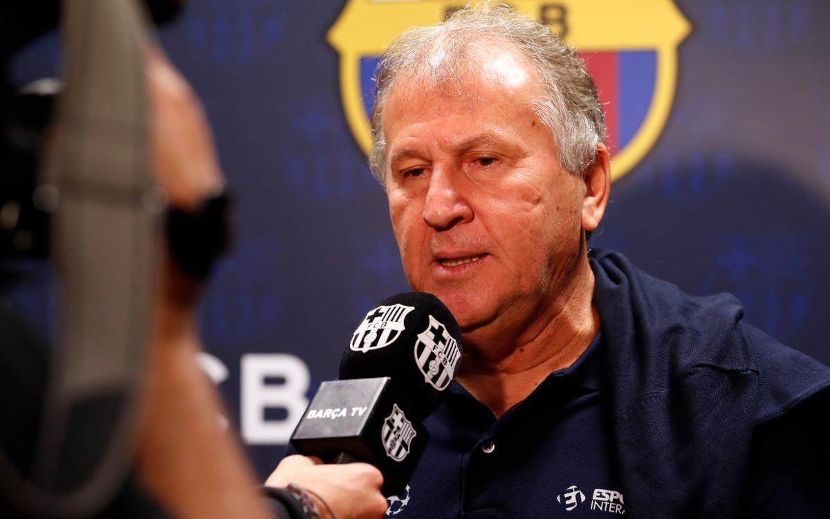 ジーコ「バルサの選手のクオリティなら、再び、逆転を信じられる」