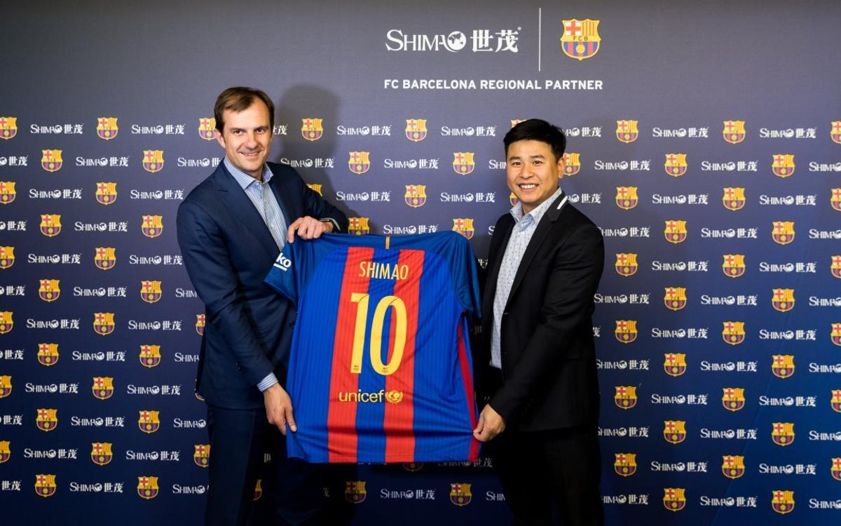 Shimao Group, nuevo patrocinador regional del FC Barcelona
