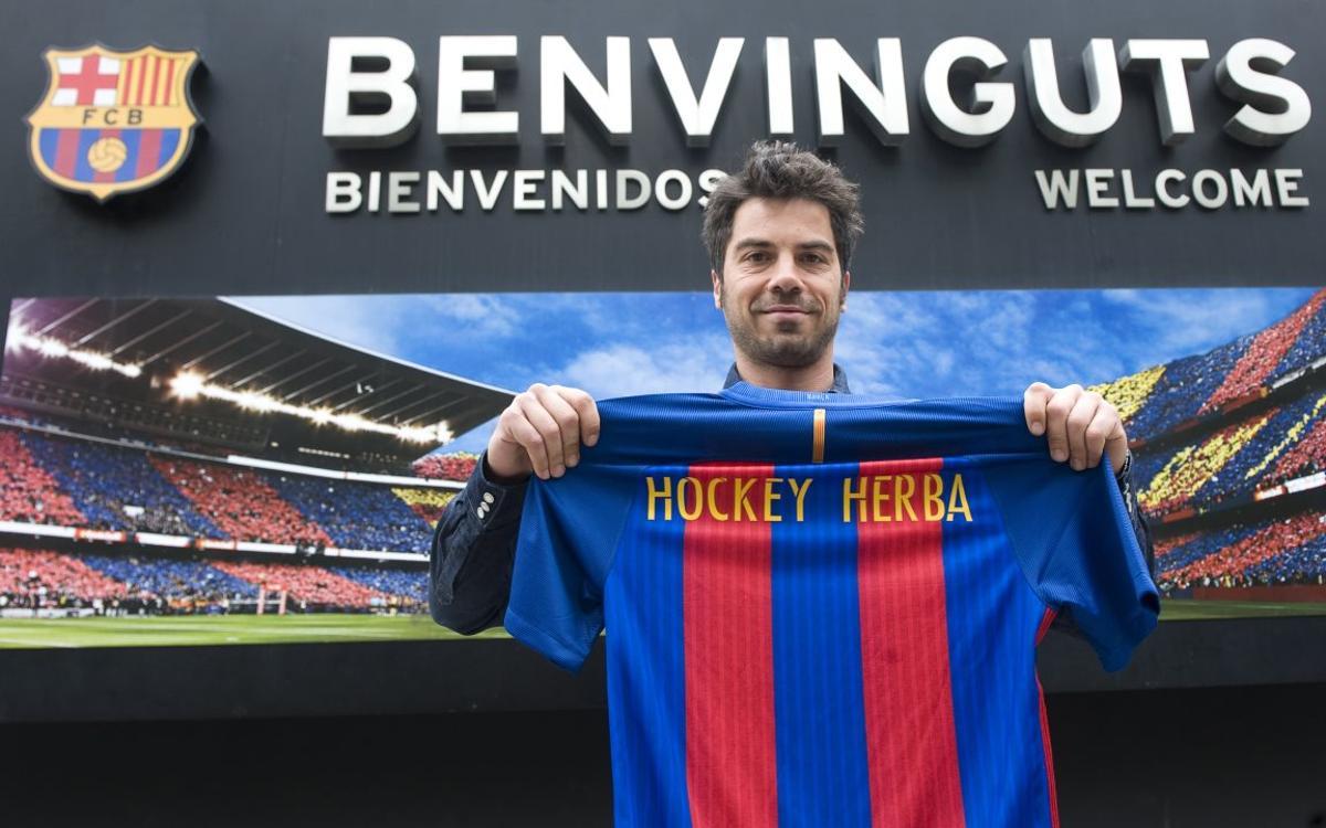Miquel Delàs vuelve al FC Barcelona de hockey hierba