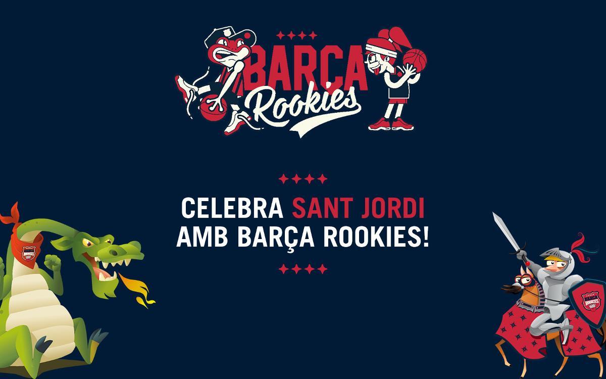 Concurs Sant Jordi per als 'rookies' blaugrana