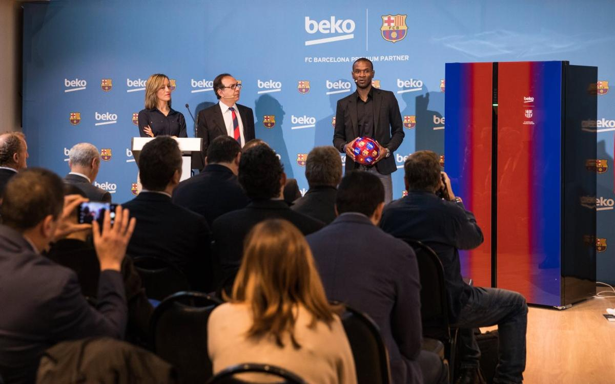 Beko launches a new line of refrigerators in the FC Barcelona colors