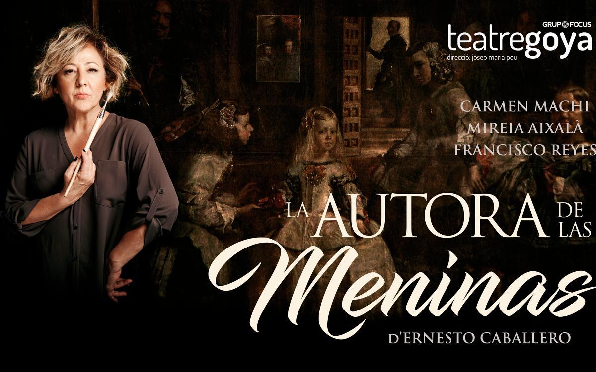 'La autora de Las Meninas', en el teatro Goya con descuento para los socios